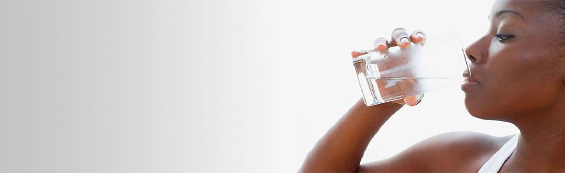 Buvez de l'eau saine